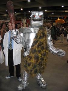 robot caveman
