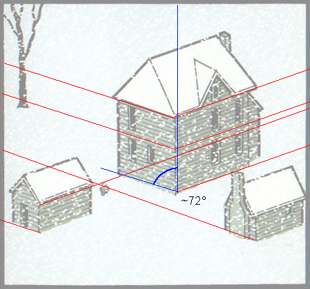 how to draw isometric view by hand