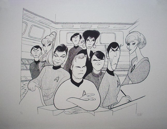 Al_Hirschfeld_Star_Trek_Original_Cast